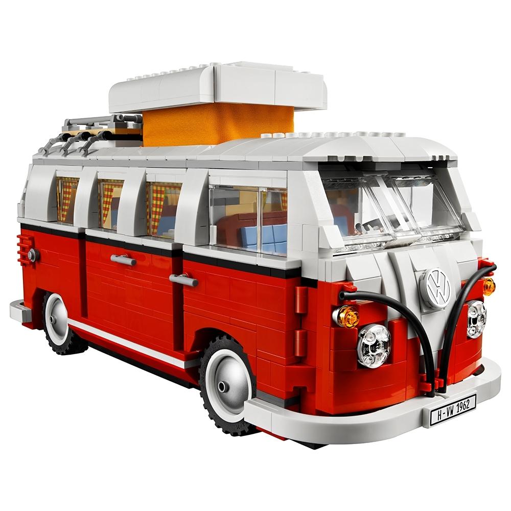 Volkswagen T1 Camper Van 10220 Creator Expert Buy Online At The Official Lego Shop Gb