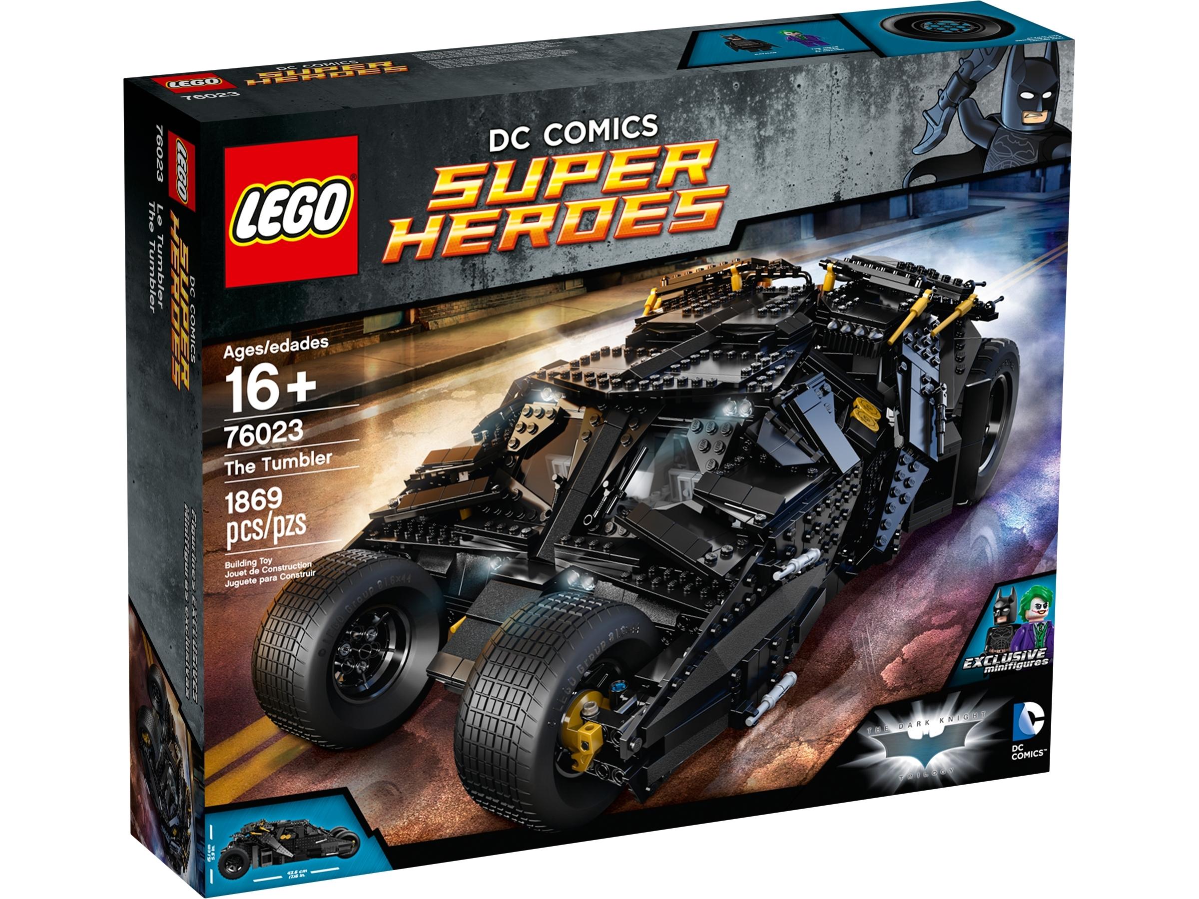 Lego® Super Heroes Batman Tumbler Sticker//Aufkleber  aus Set 76023 Neu