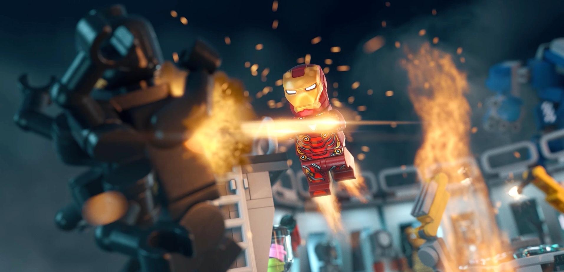 Iron Man armoured version Marvel DC Super Hero Mini figure Fit lego