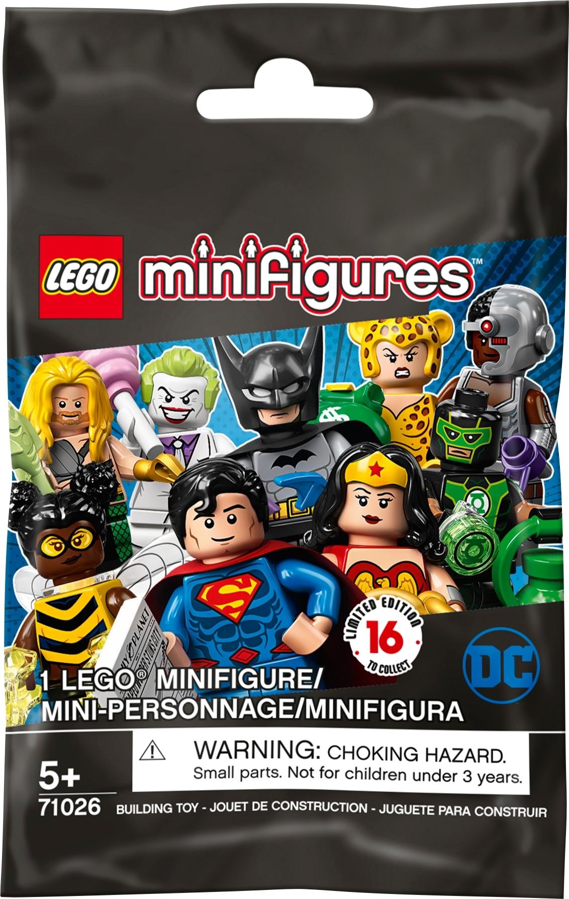 Lego DC SUPER HEROES MINIFIGURES SERIES 71026 mini fig Superman Bat-Mite set