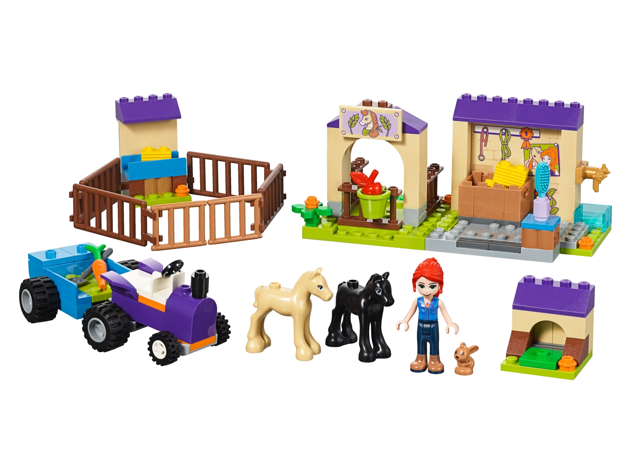 118 Pieces Mia/'s Foal Stable 41361 Building Kit LEGO Friends 4