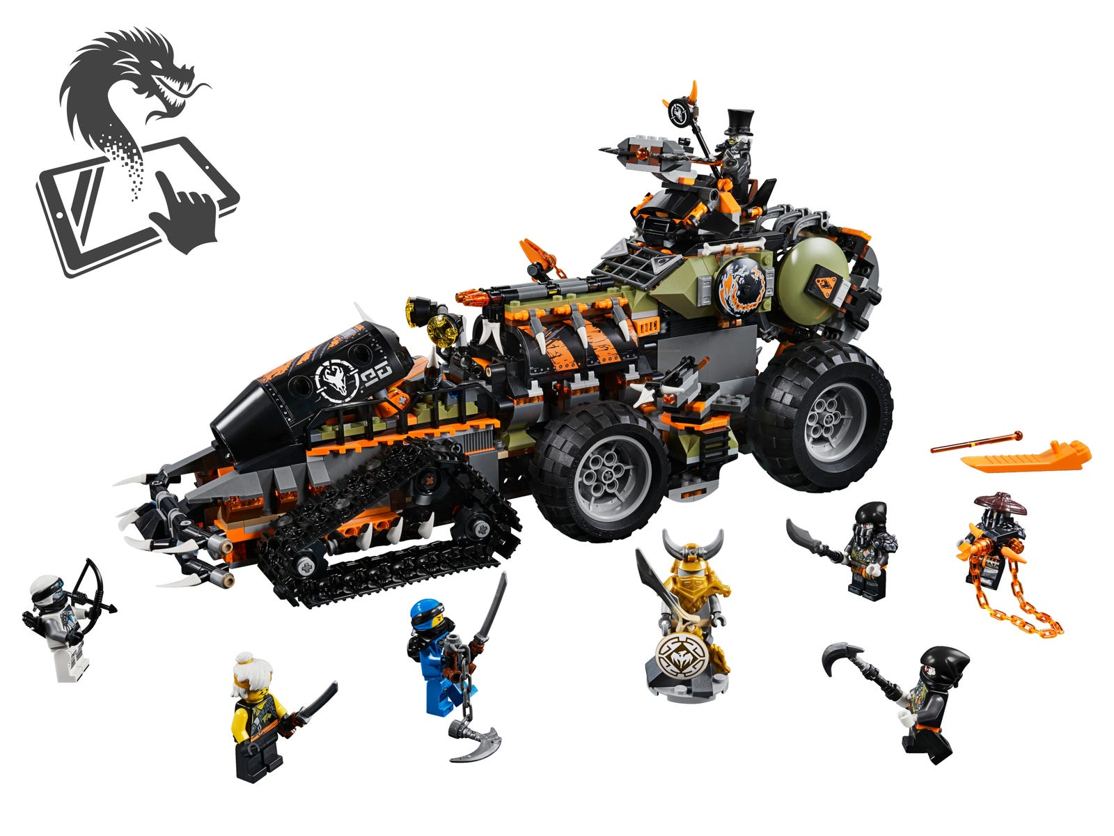 Dragon Armor Ninjago : It was located in firstbourne's nest until it was found by the iron baron and wu.