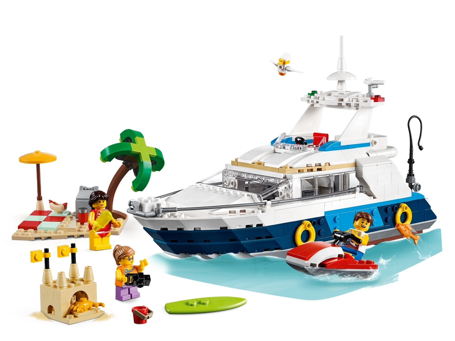 LEGO 31083 Creator Cruising Adventures 3-in-1 Complete Sealed Set