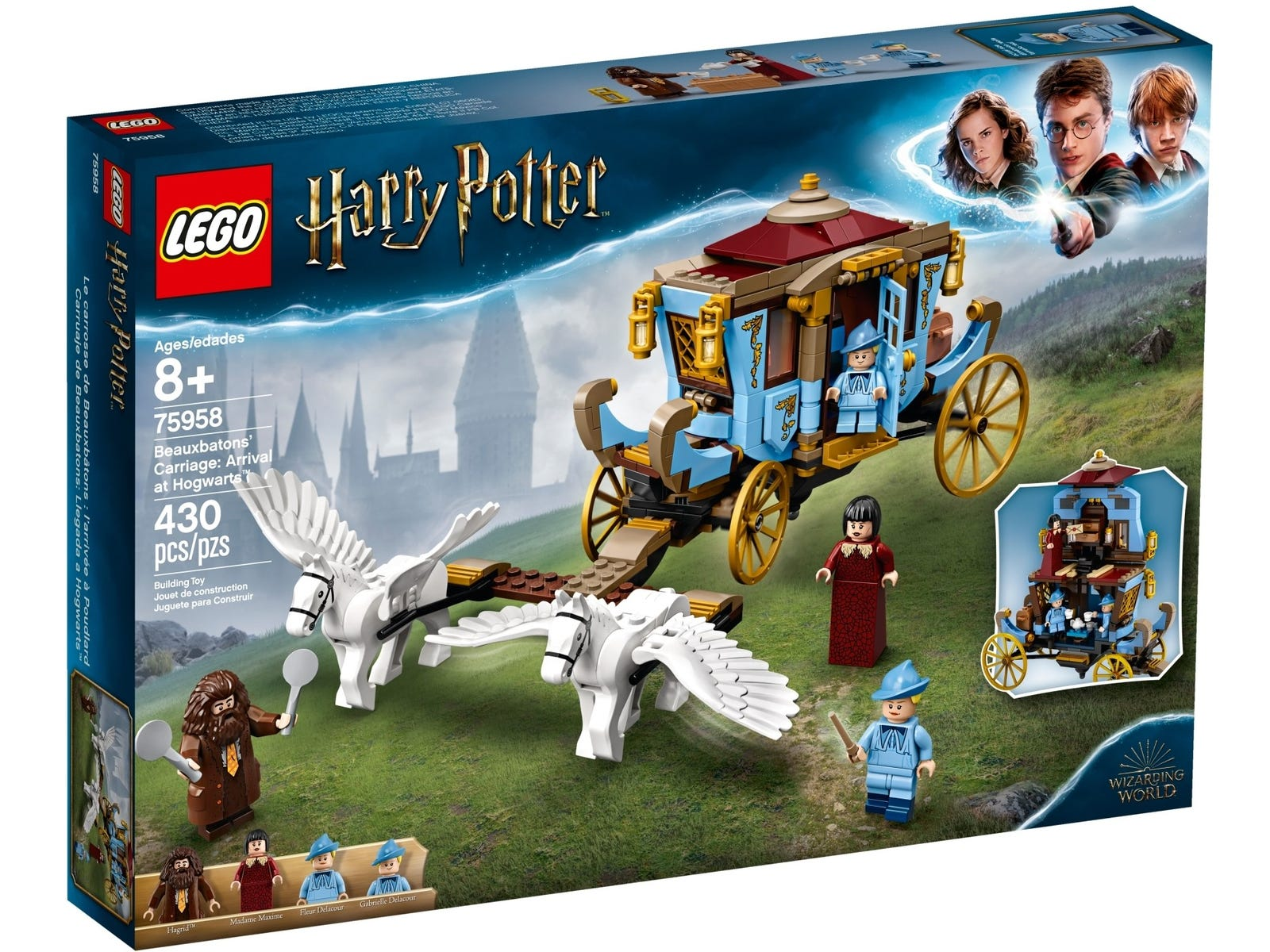 Beauxbatons Carriage Arrival At Hogwarts 75958 Harry Potter Buy Online At The Official Lego Shop Hu 1 year ago1 year ago. lego