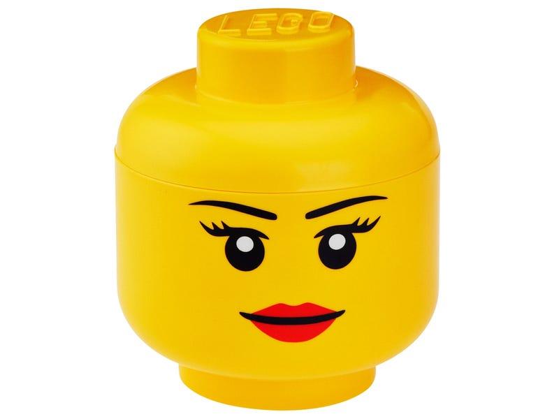 LEGO® Girl Storage Head Small