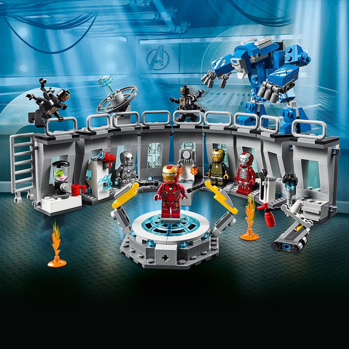 Iron Man   Characters   LEGO Marvel   Official LEGO® Shop US