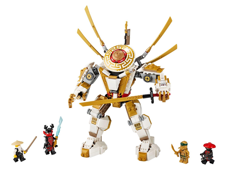 Golden Mech 71702 Ninjago Buy Online At The Official Lego Shop Pt