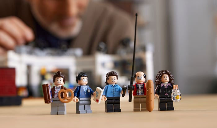 The minifigures that come with the set each have their own prop.
