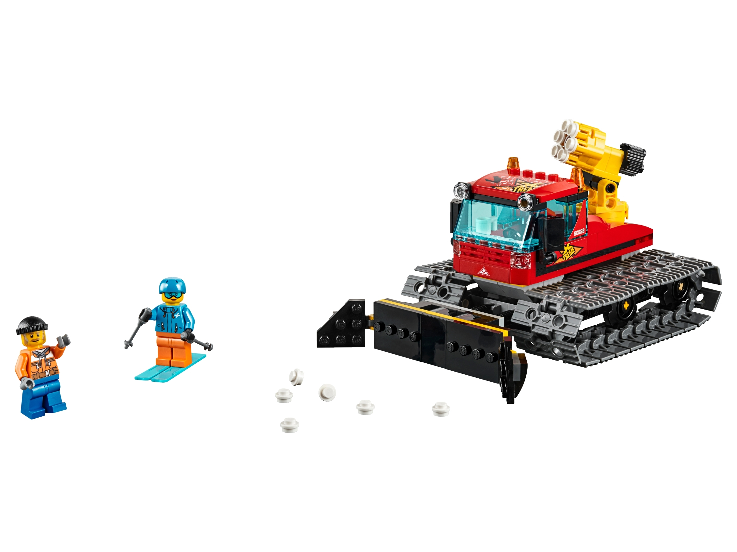 LEGO City Great Vehicles Snow Groomer 60222 Building Kit 197 Pieces