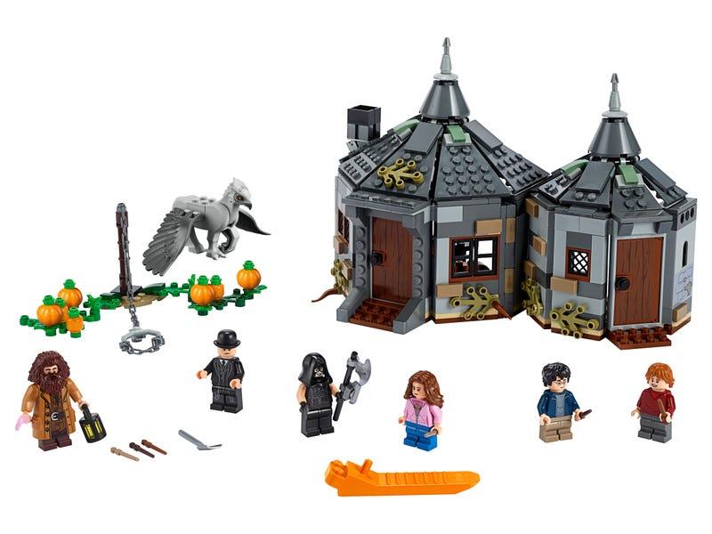La cabane de Hagrid : le sauvetage de Buck