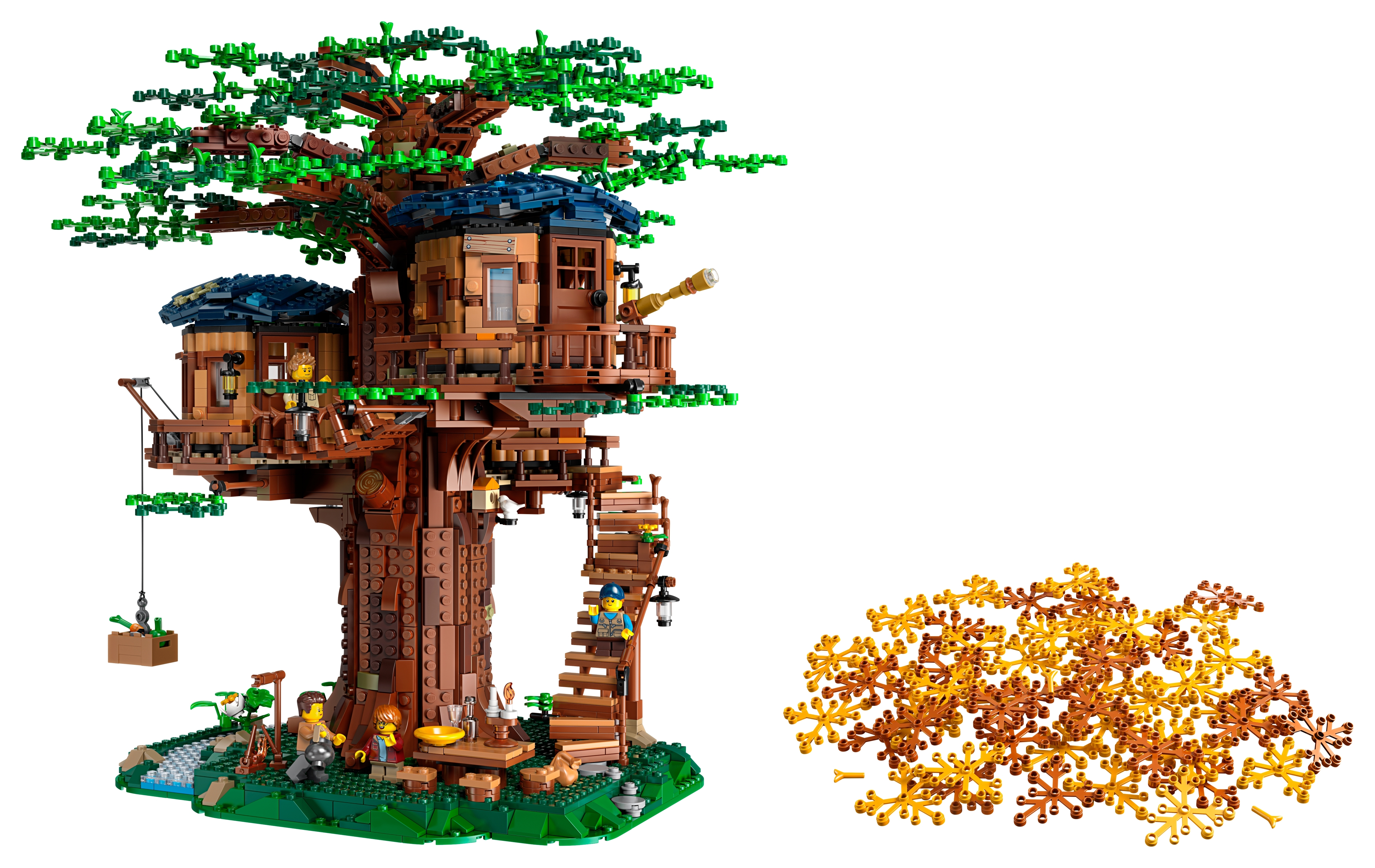 Picture of: Tree House 21318 Ideas Buy Online At The Official Lego Shop Ca