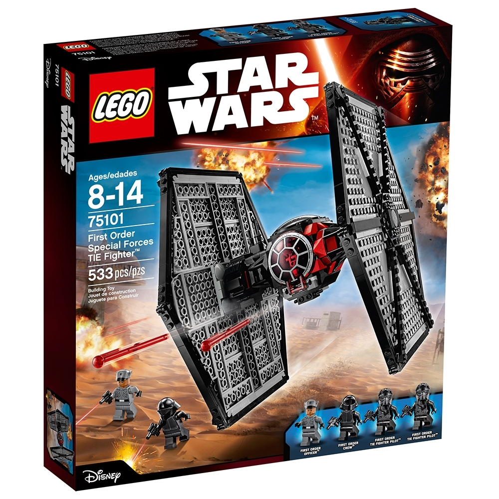 Star Wars TFA First Order Special Forces Tie Fighter