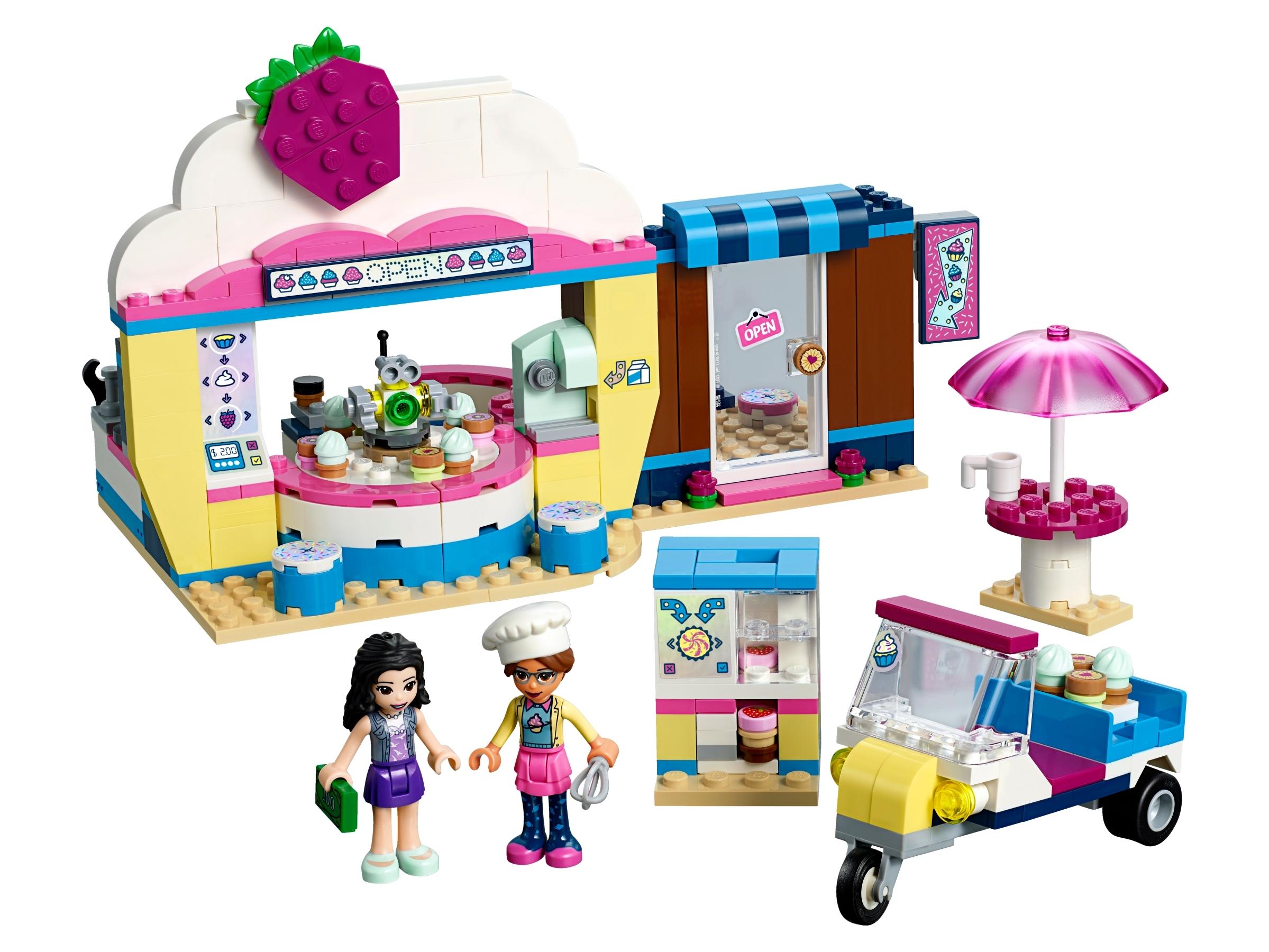 LEGO Friends Olivia's Cupcake Café 41366 Building Kit 335 Piece New 2019