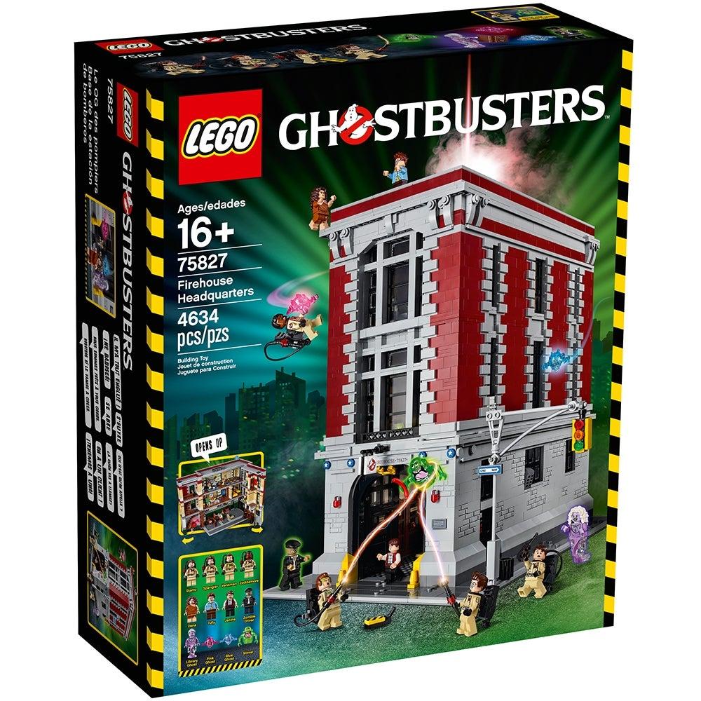 Creator Ghostbusters Firehouse Headquarters Building Block Bricks Toys 4695pcs
