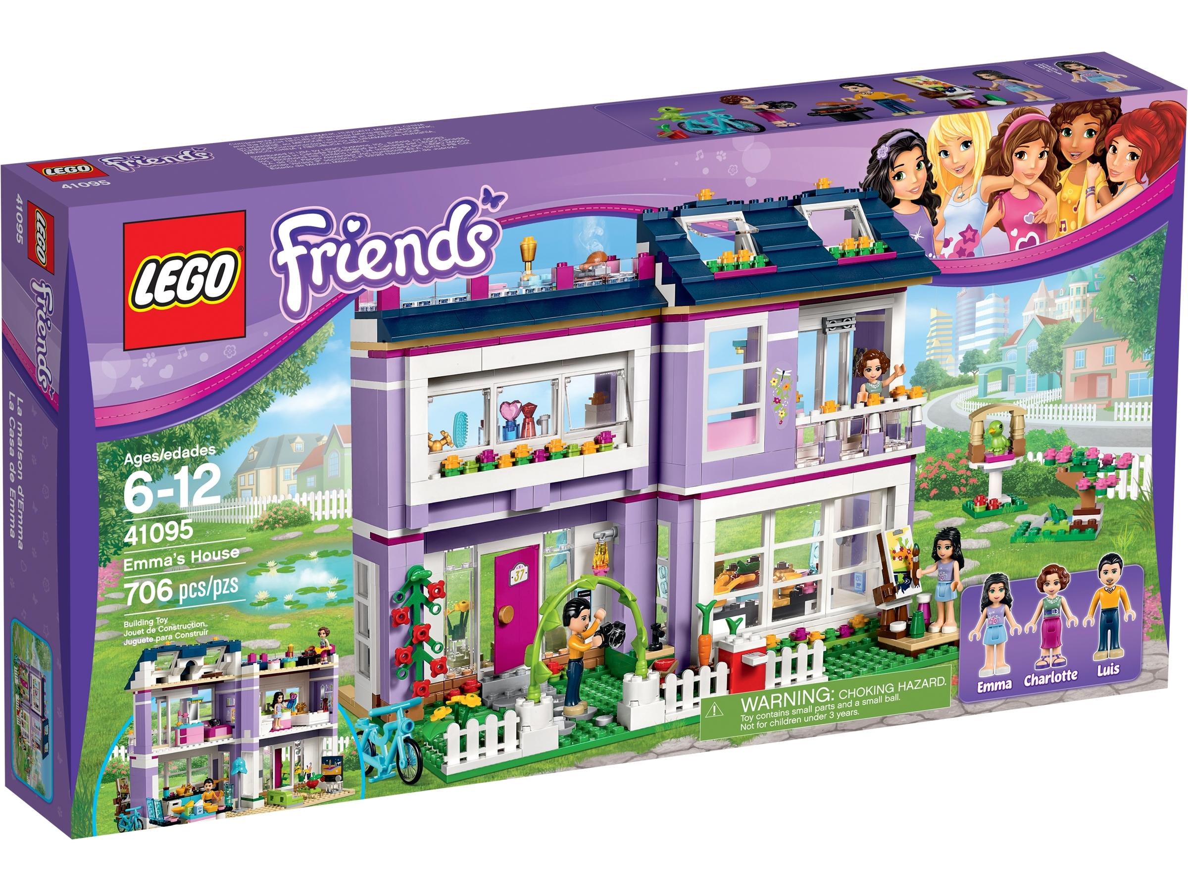 La Casa De Emma 41095 Friends Oficial Lego Shop Es