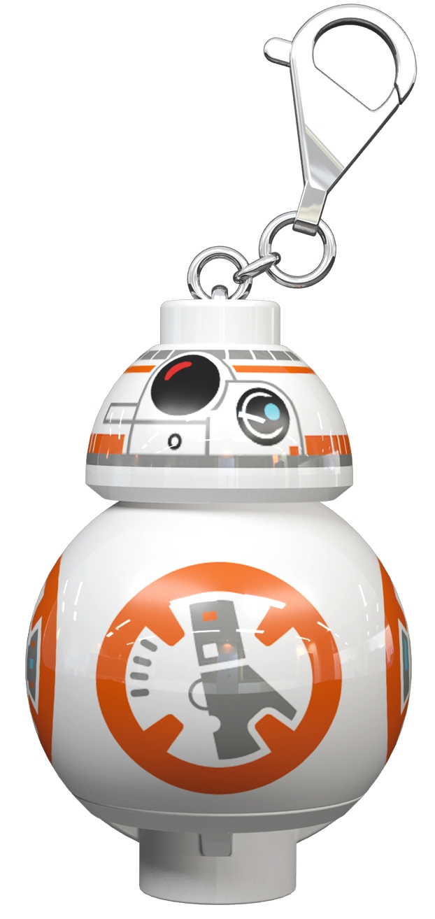 Lego Star Wars BB-8 LED Key Light Keychain Torch
