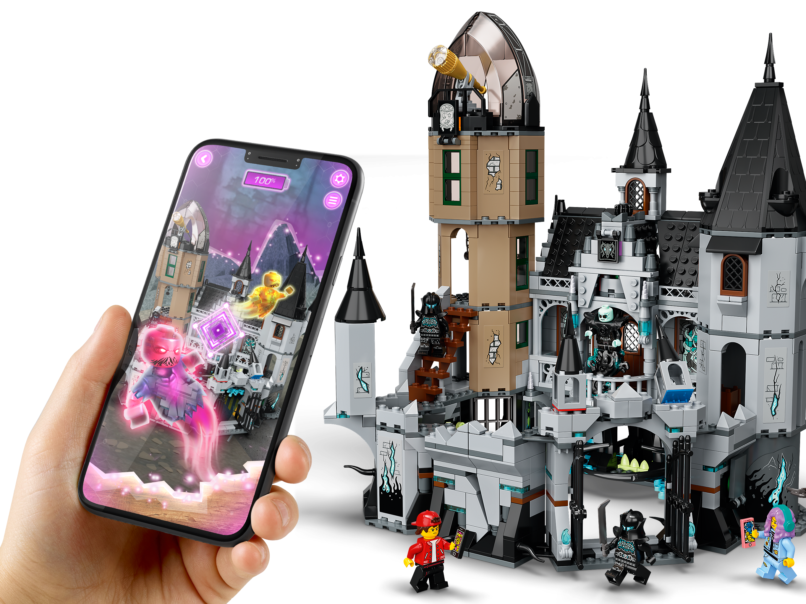 Mystery Castle 70437 Hidden Side Buy Online At The Official Lego Shop Lv