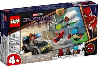 Spider-Man vs. Mysterio's Drone Attack