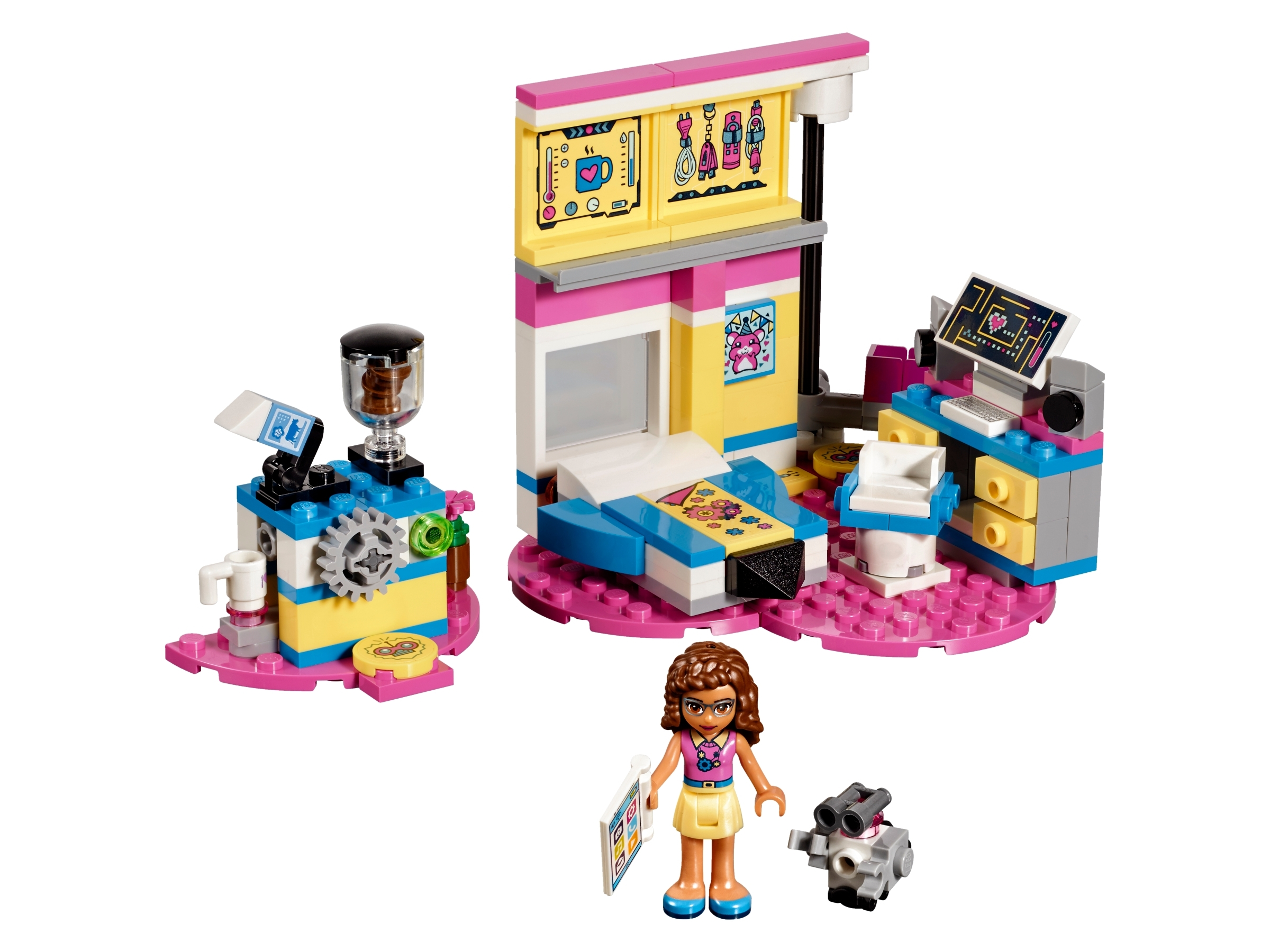 Olivia S Deluxe Bedroom 41329 Friends Buy Online At The Official Lego Shop Ca
