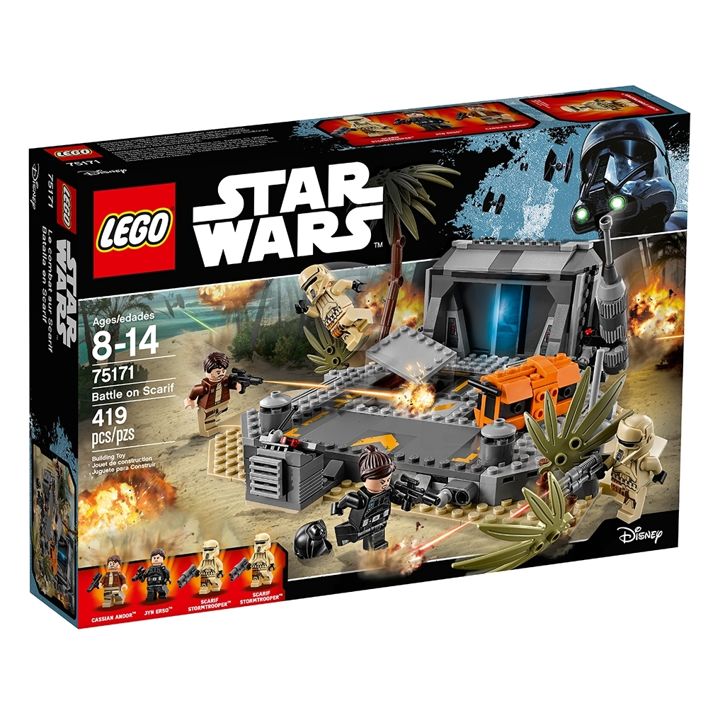 MINIFIGURA CASSIAN ANDOR SET 75171 ORIGINAL MINIFIGURE LEGO STAR WARS