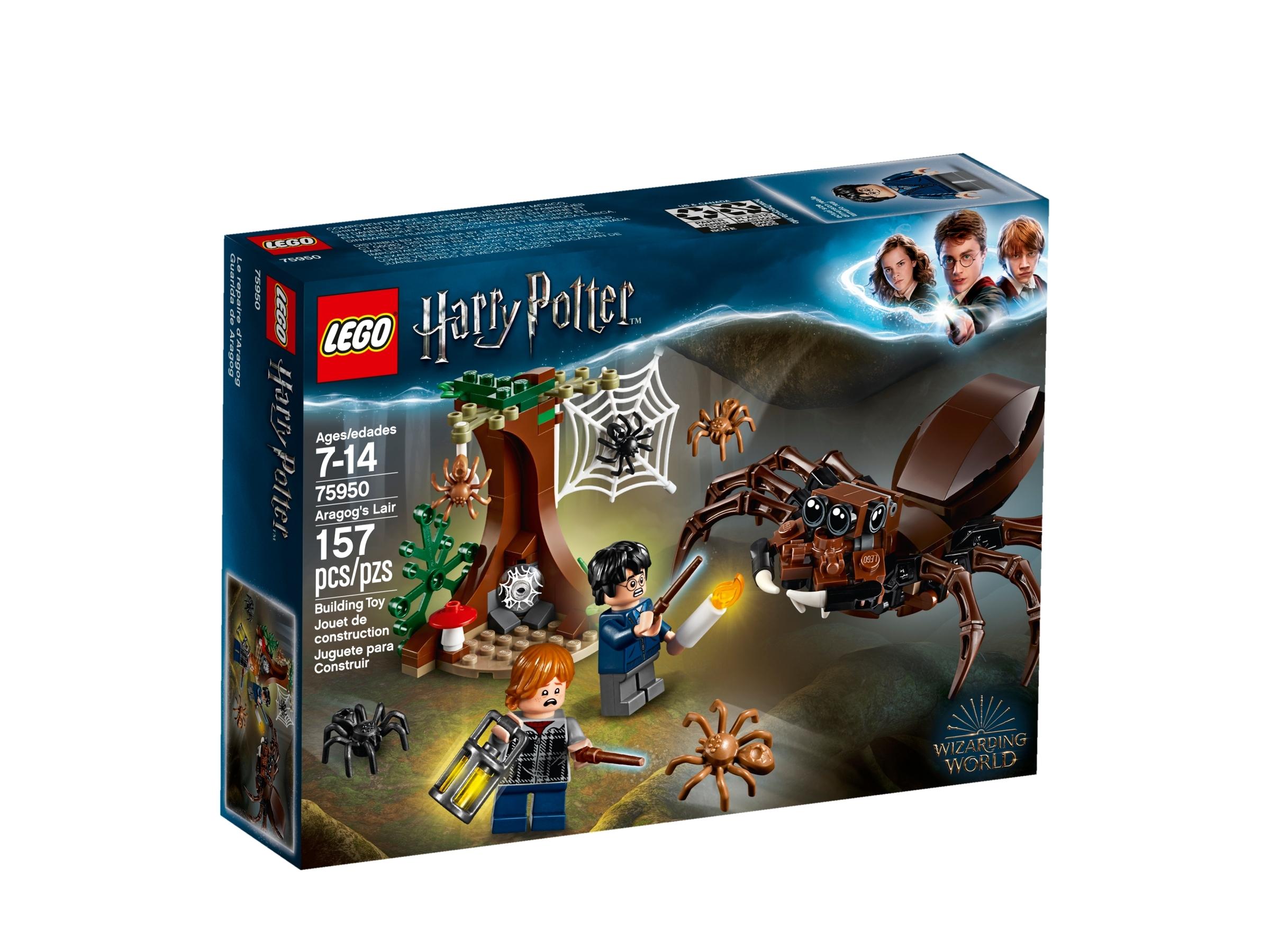 LEGO® SET Harry Potter 75950 Aragogs Versteck