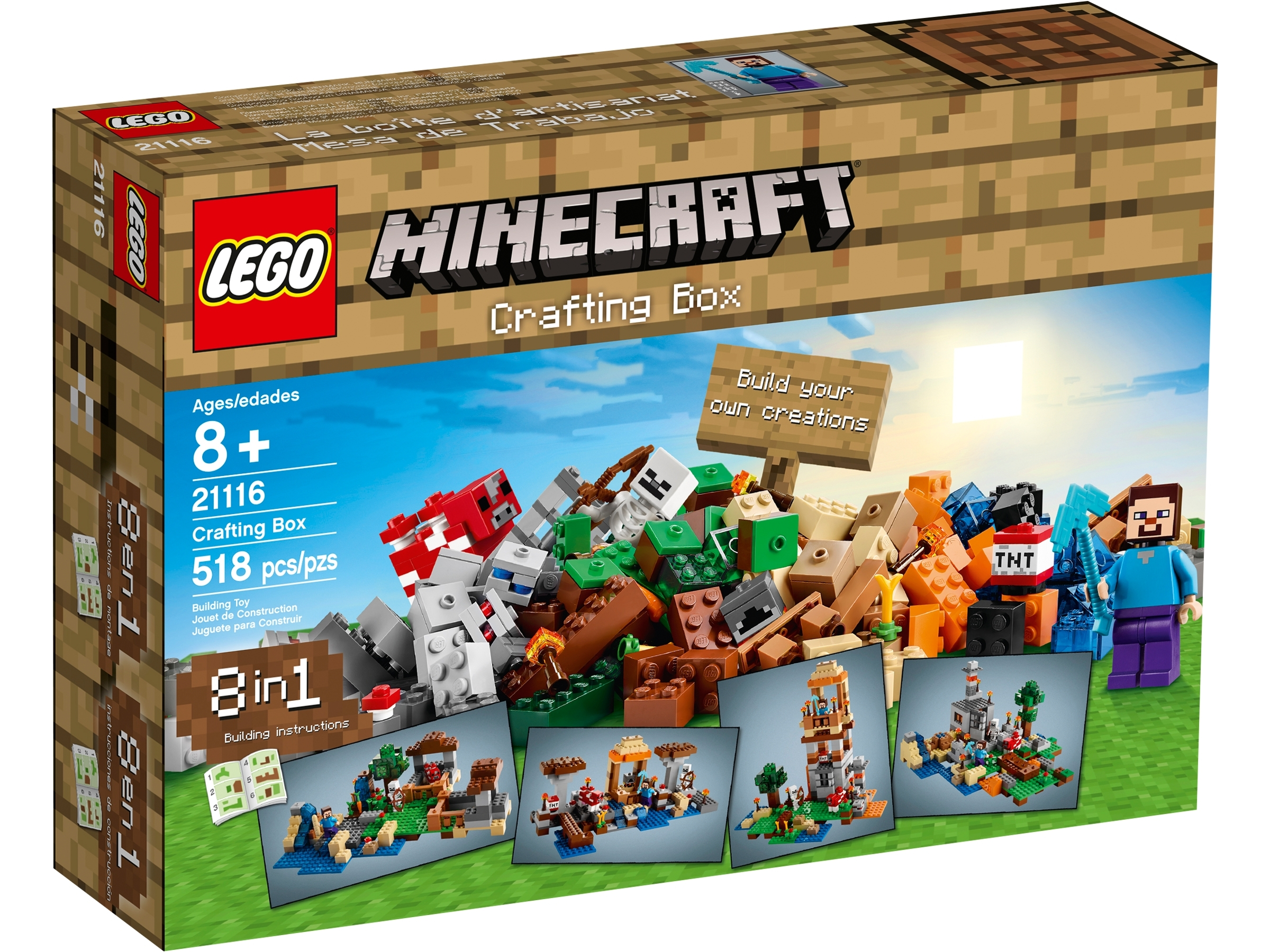 Crafting Box 21116 Minecraft Buy Online At The Official Lego Shop Nl
