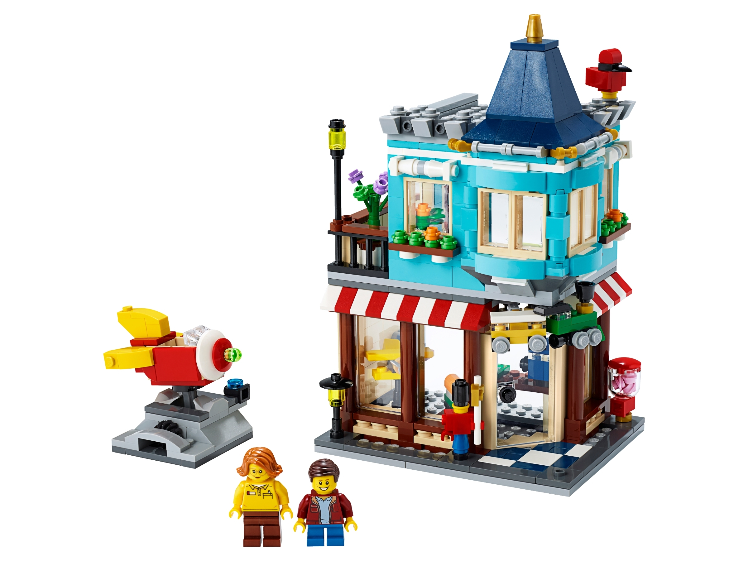 Townhouse Toy Store 31105 | Creator 3 in 1 | Buy online at the Official LEGO® Shop SE
