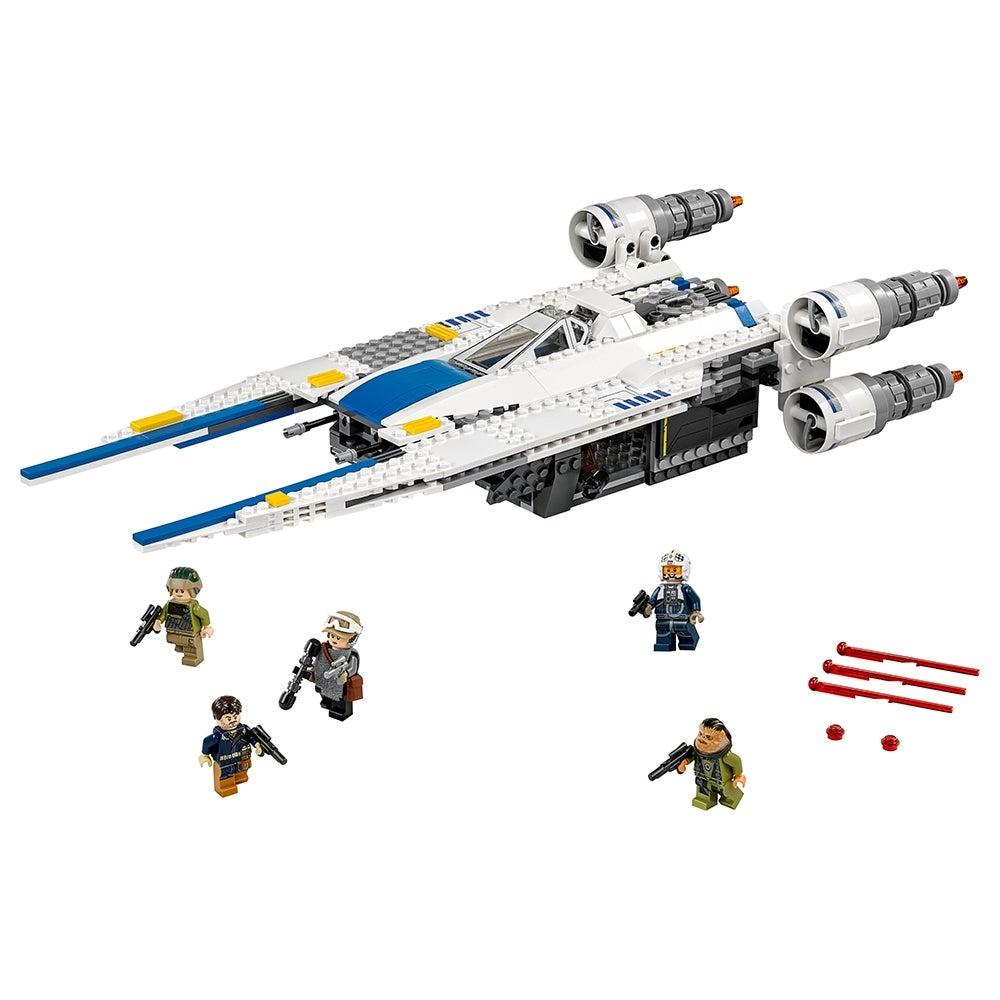 Y-wing 75172 75155 Star Wars Minifigure Lego Rebel Pilot U-wing