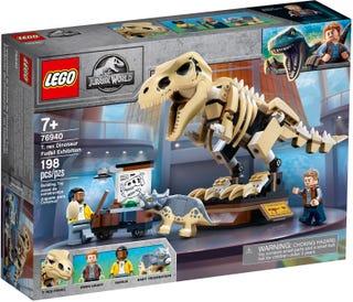 Výstava fosílií T-rexa