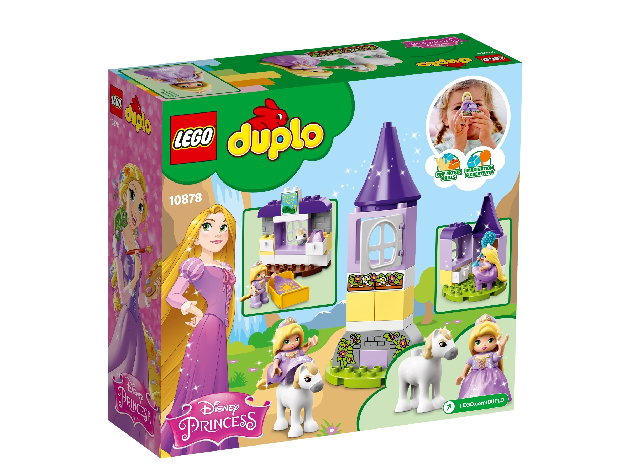Lego Duplo Disney Princess Rapunzel´s Tower 10878 New in Box