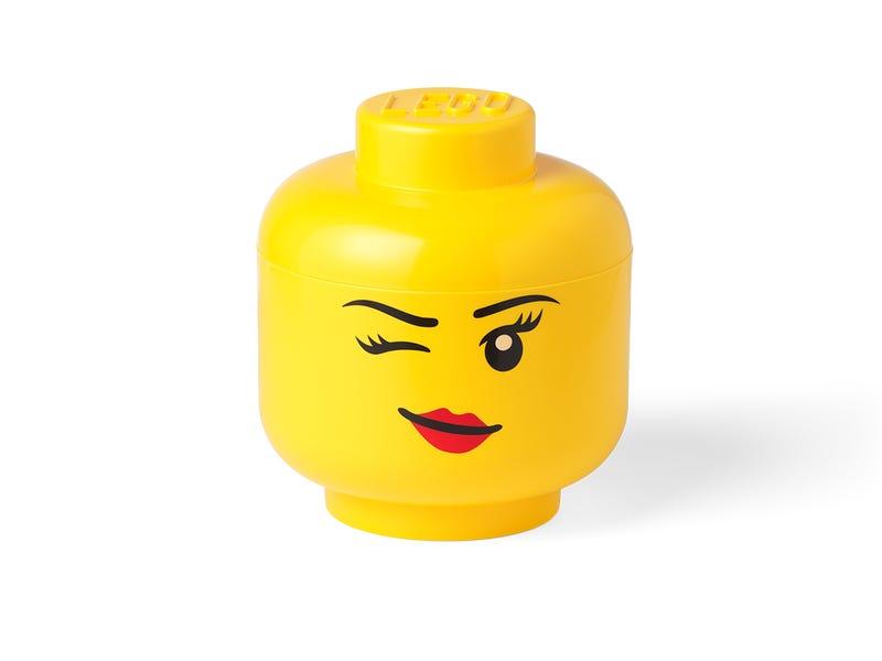 LEGO Storage Head Small (Winking)