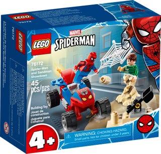 Spider-Manin ja Sandmanin välienselvittely