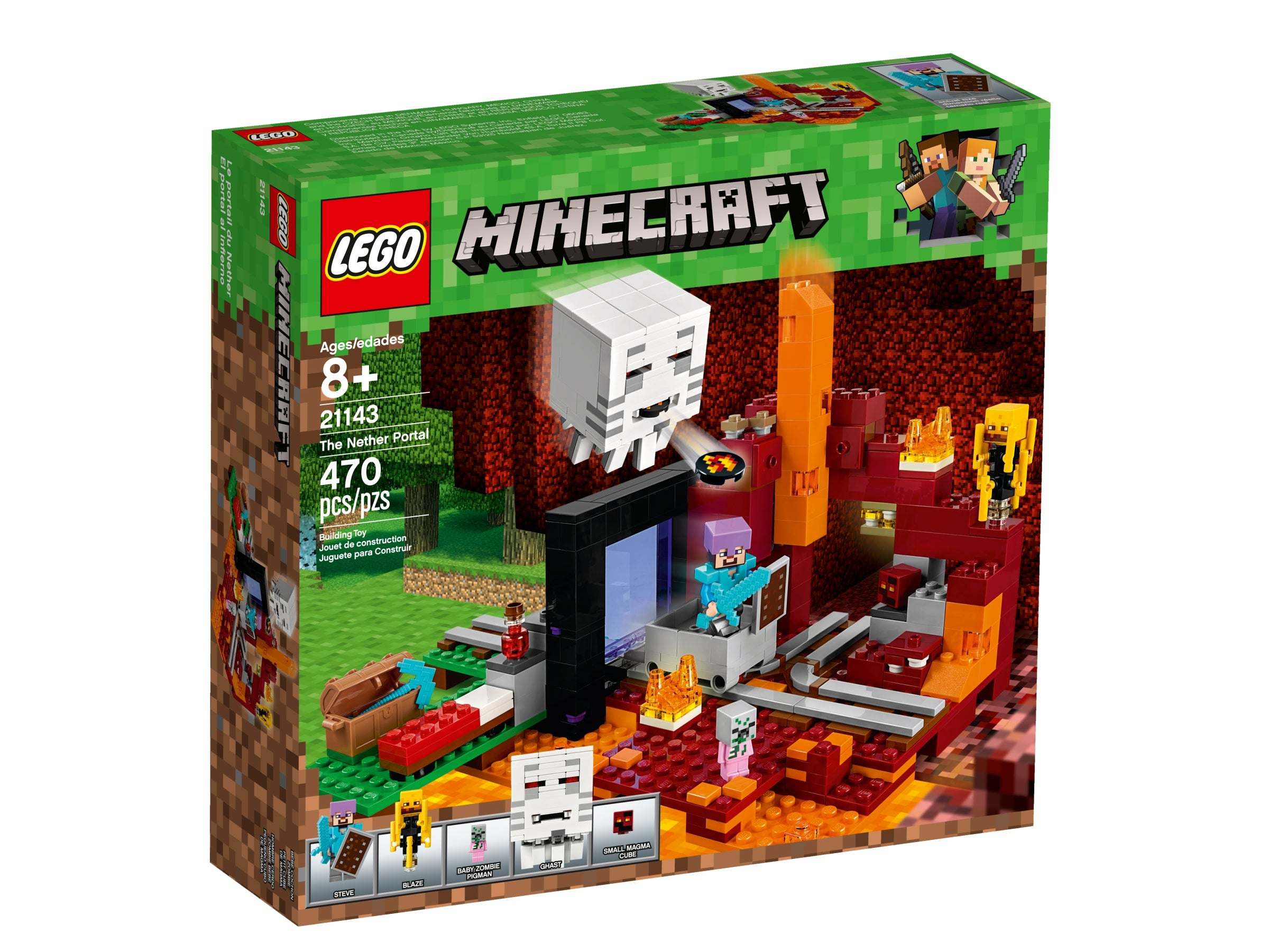 Replacement Pieces Lego Minecraft Set of 3 Bookshelves NEW