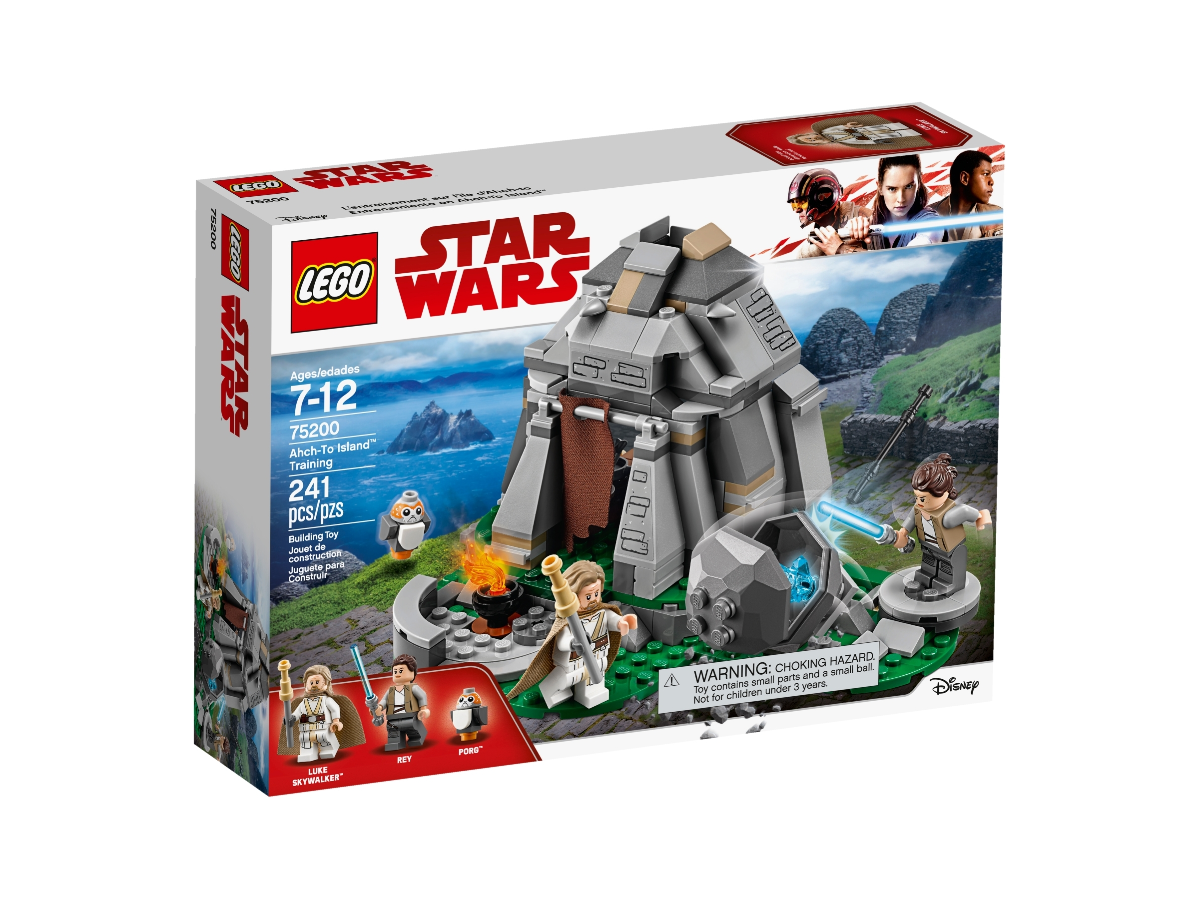 Ahch To Island Training 75200 Star Wars Buy Online At The Official Lego Shop Us