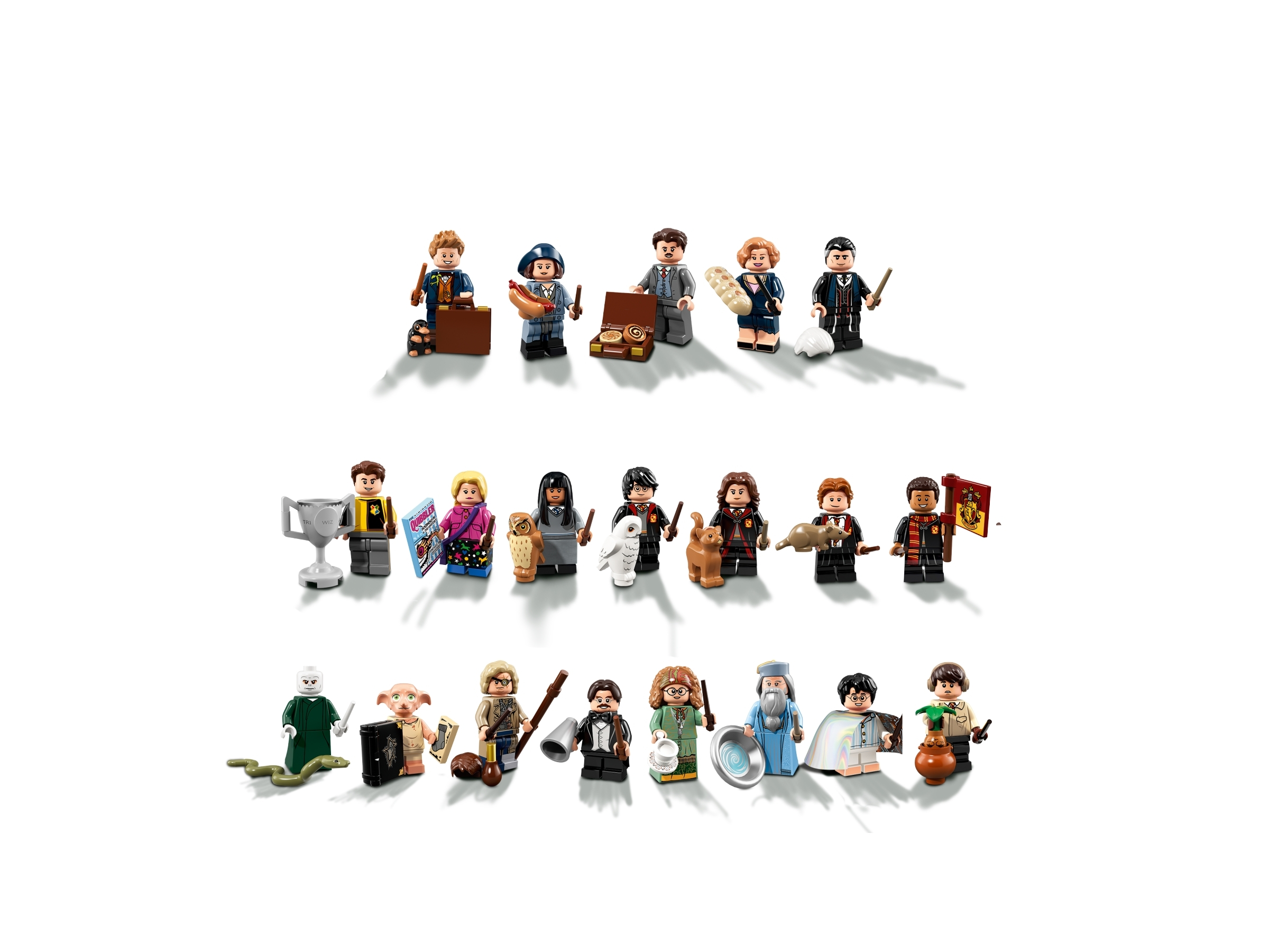 Newt Scamander 71022 LEGO Minifigures Harry Potter Fantastic Beasts Series