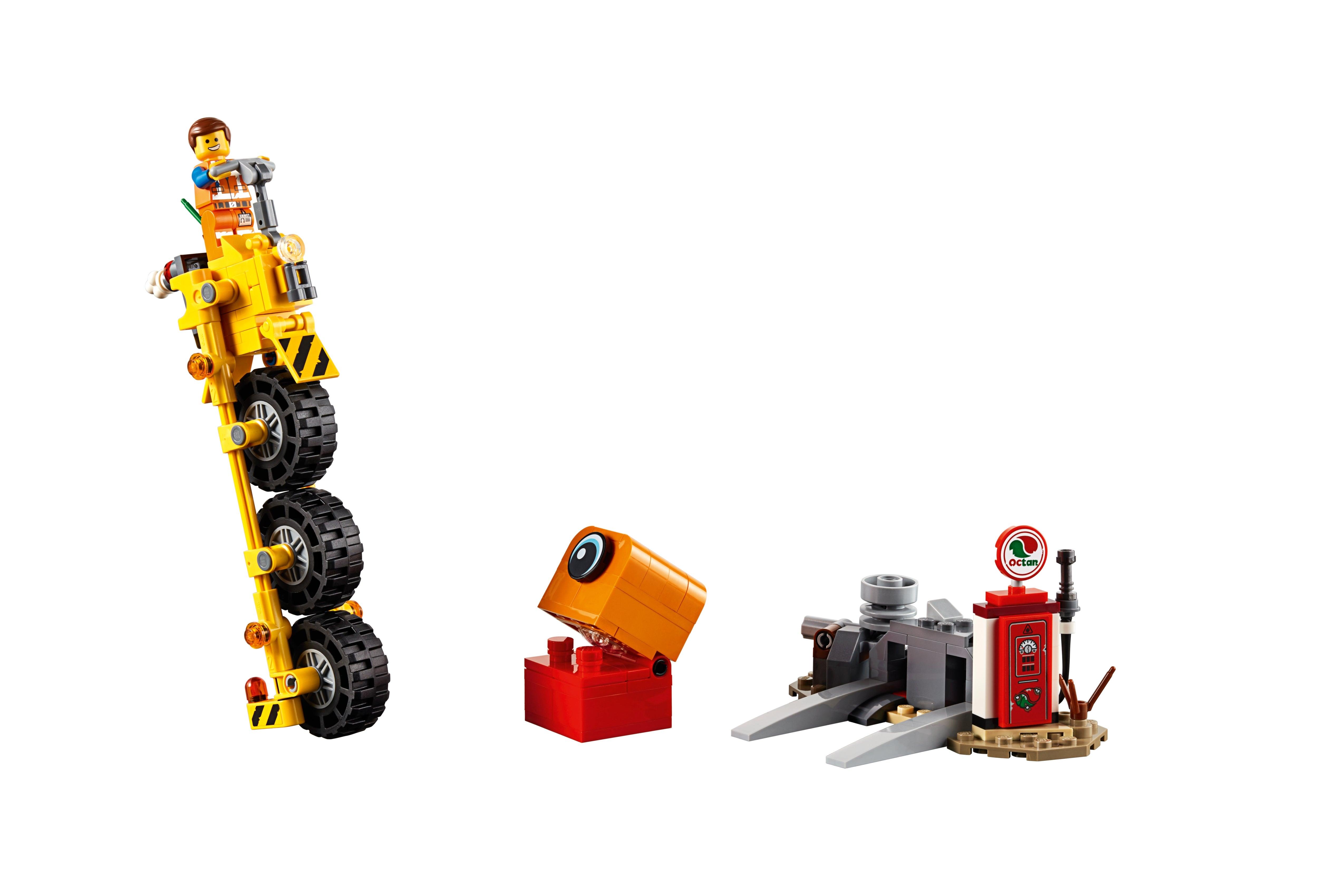 NEW Split from 70823 The  Lego Movie 2 Lego EMMET Minifigure