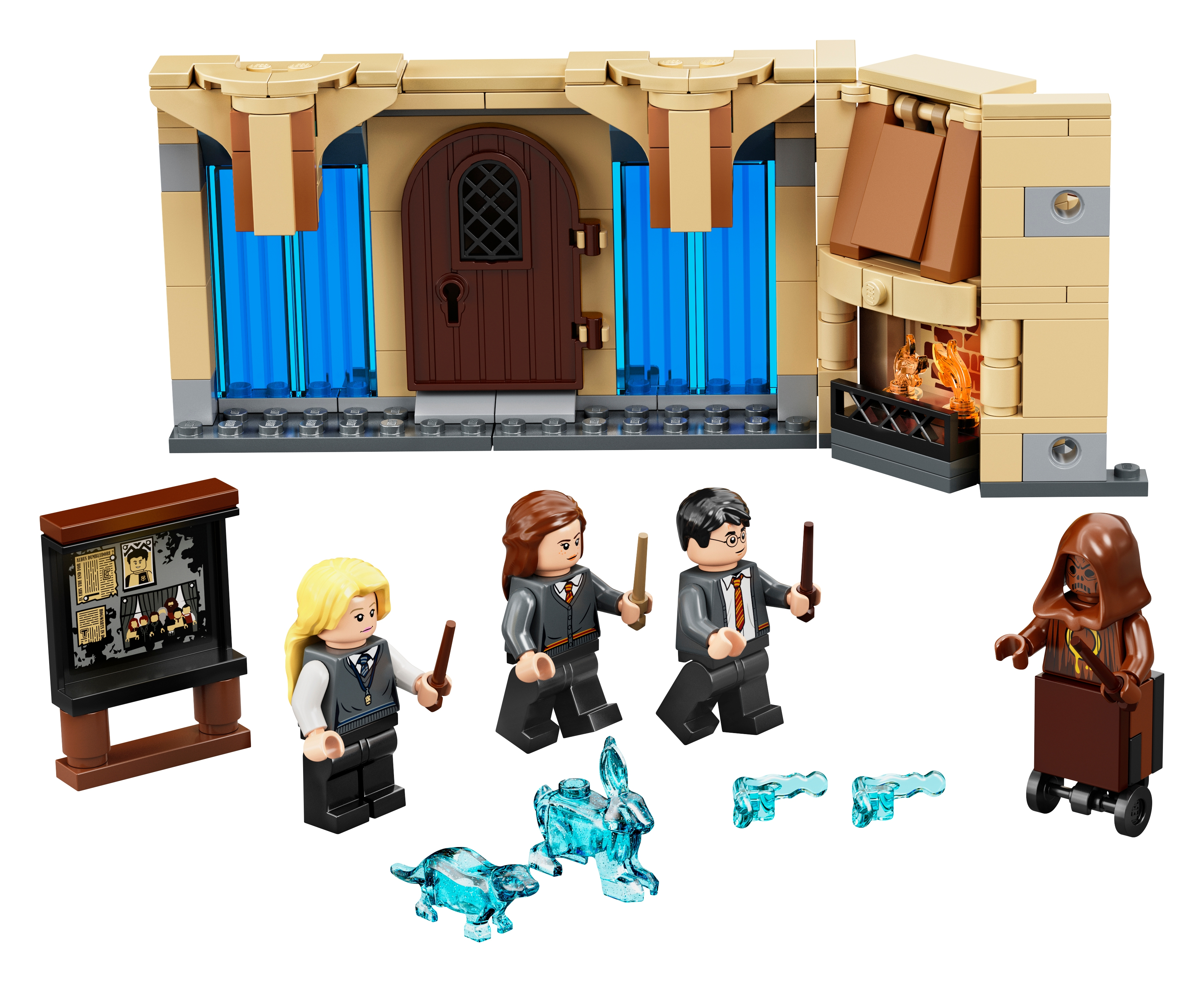 HARRY POTTER PLAY SET FIGURES COMMON ROOM ROOM OF REQUIREMENT RARE YOU CHOOSE