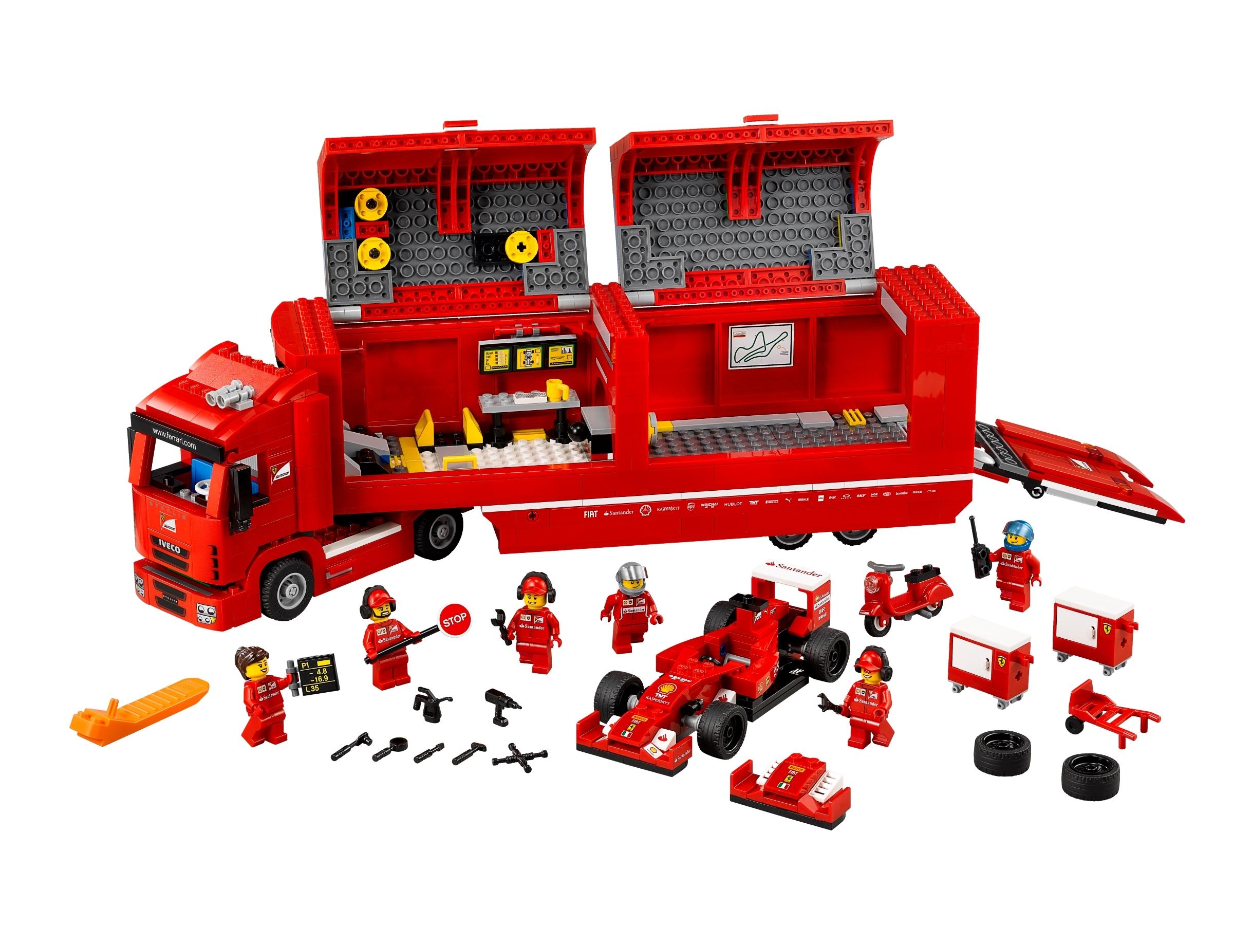 F14 T Scuderia Ferrari Truck 75913 Speed Champions Buy Online At The Official Lego Shop De