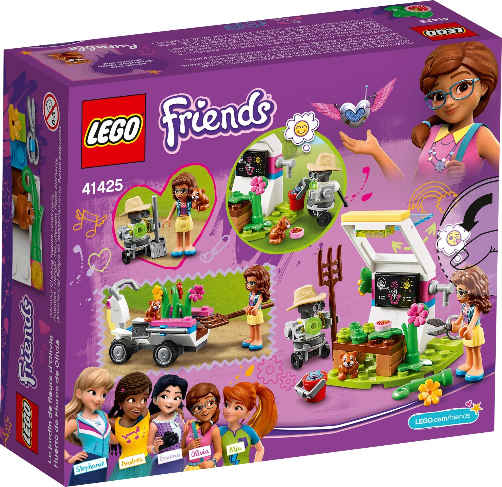 LEGO FRIENDS Olivia/'s Flower Garden 41425 Set
