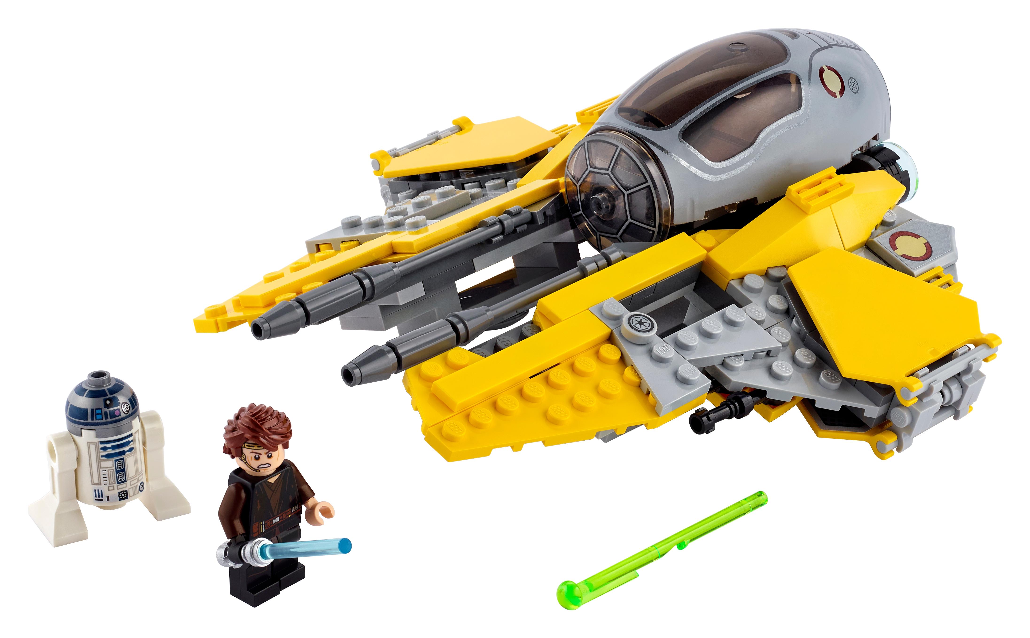 New Lego Star Wars Young Anakin Skywalker Minifigure