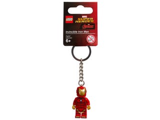 Porte-clés Invincible Iron Man LEGO® Marvel Super Heroes