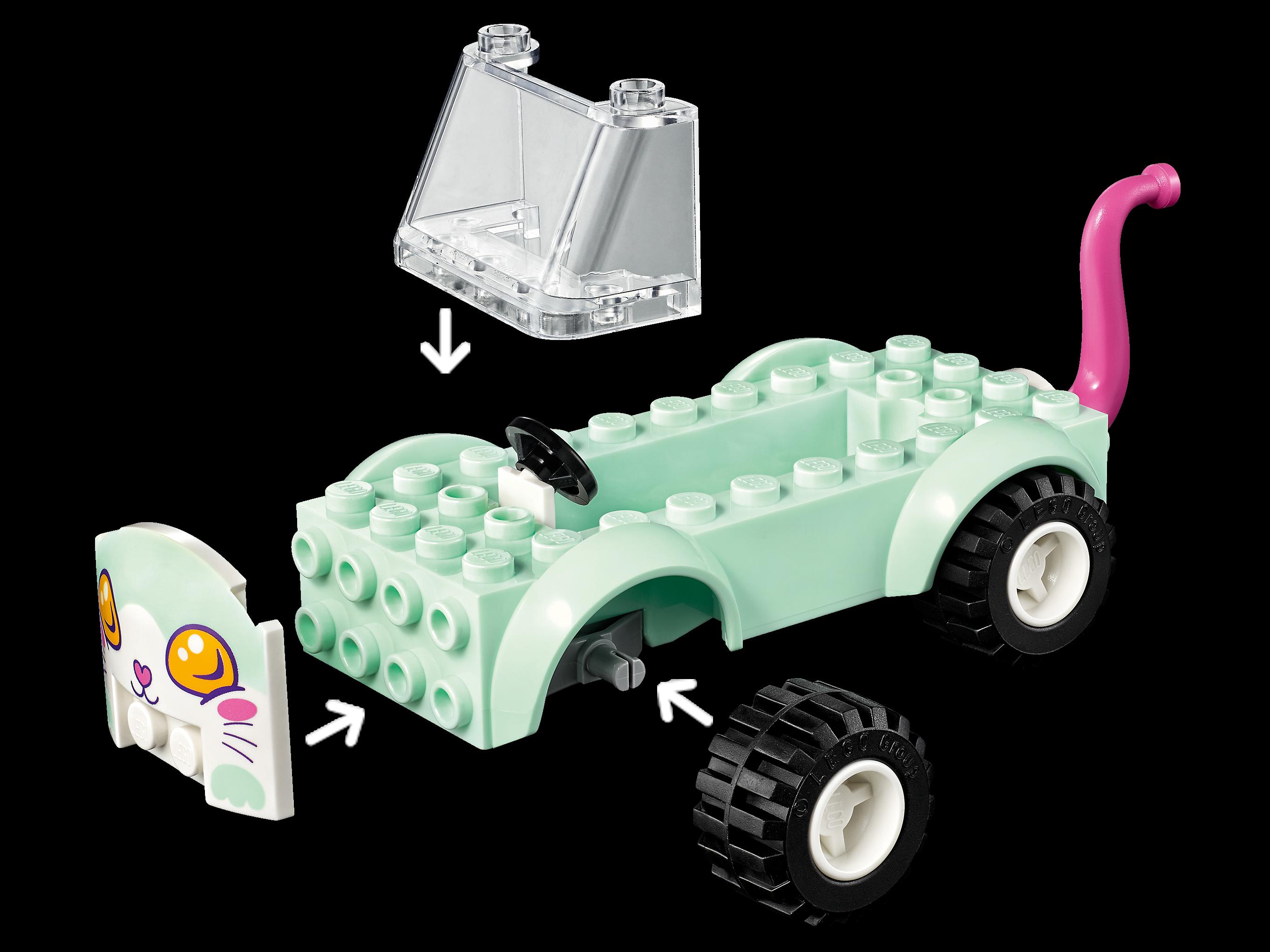 Lego Chat Gris Foncé Neuf G139