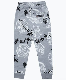 HYPE X LEGO® NINJAGO® Grey Just Hype Faces Adults' Sweatpants