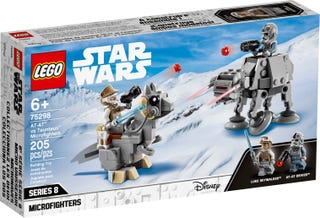 AT-AT™ vs. Tauntaun™ Microfighters