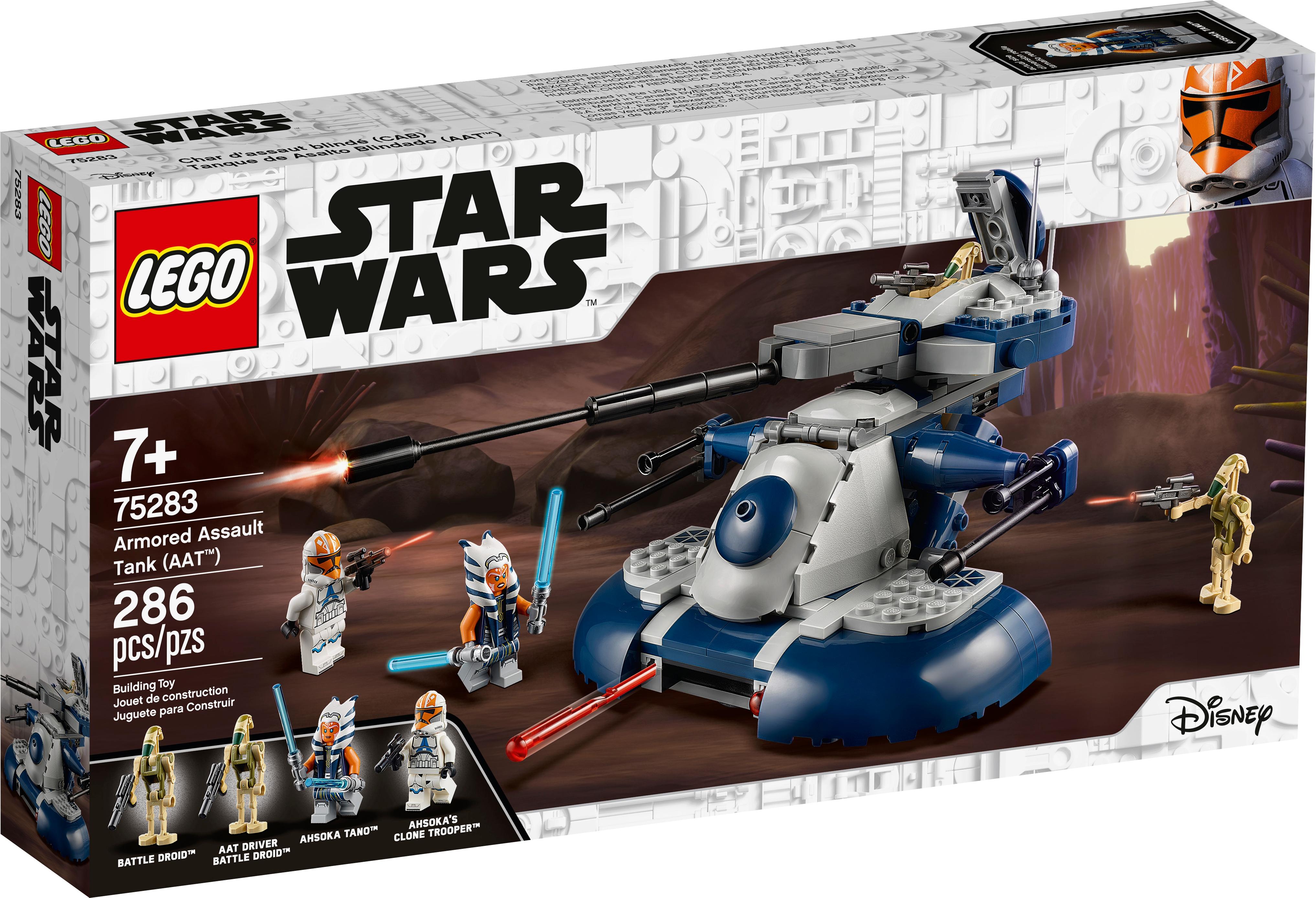 Lego Star Wars Clone Wars 75283 Armored Assault Tank AAT Vehicle ONLY BONUS