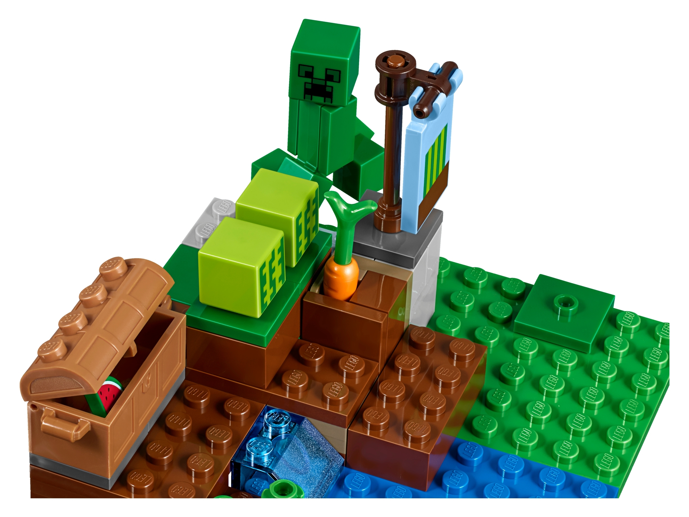 The Melon Farm 21138 Minecraft Buy Online At The Official Lego Shop Us