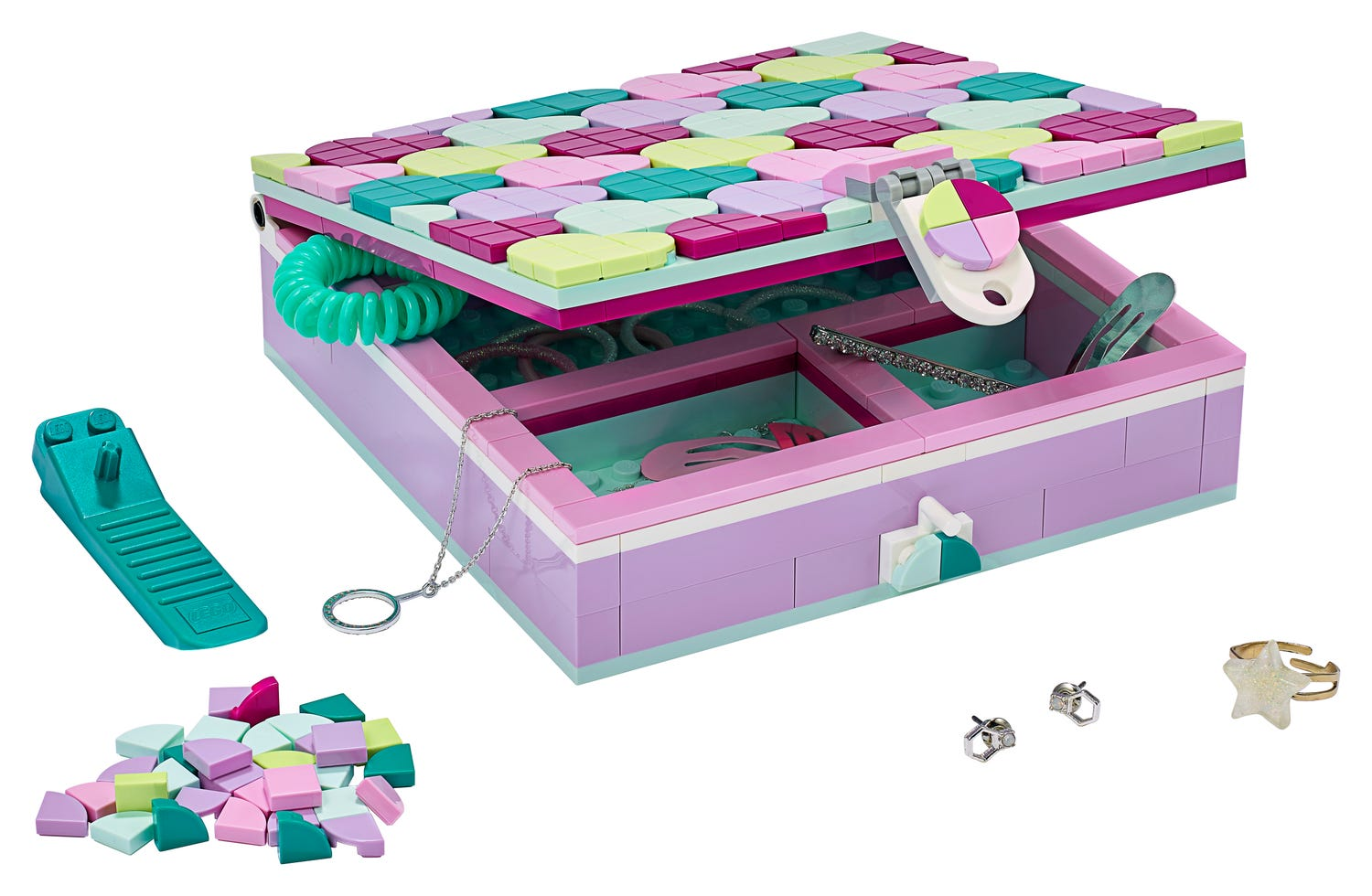 Jewelry Box 20   DOTS   Buy online at the Official LEGO® Shop GB