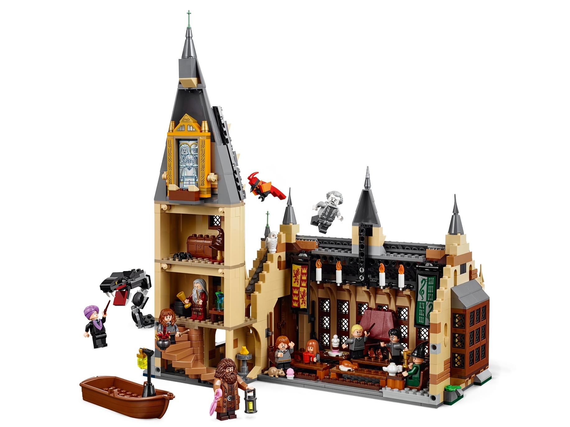 Большой зал Хогвартса 75954   Harry Potter™   LEGO.com RU