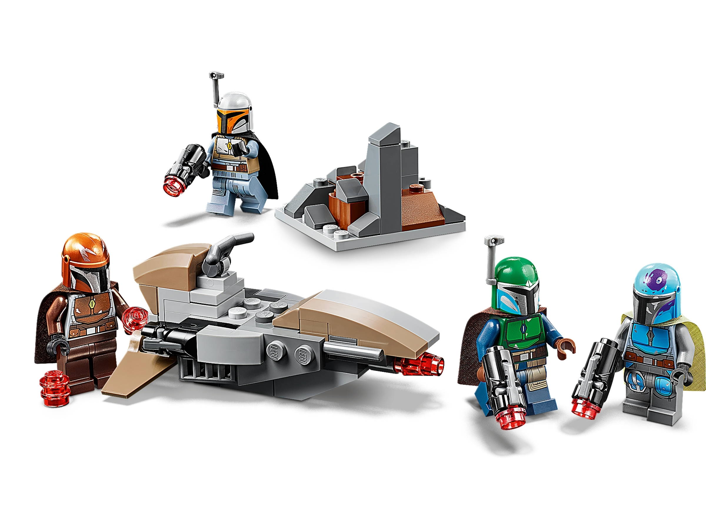 LEGO 75267 New Star Wars Mandalorian Battle Pack Set with 4 Minifigures