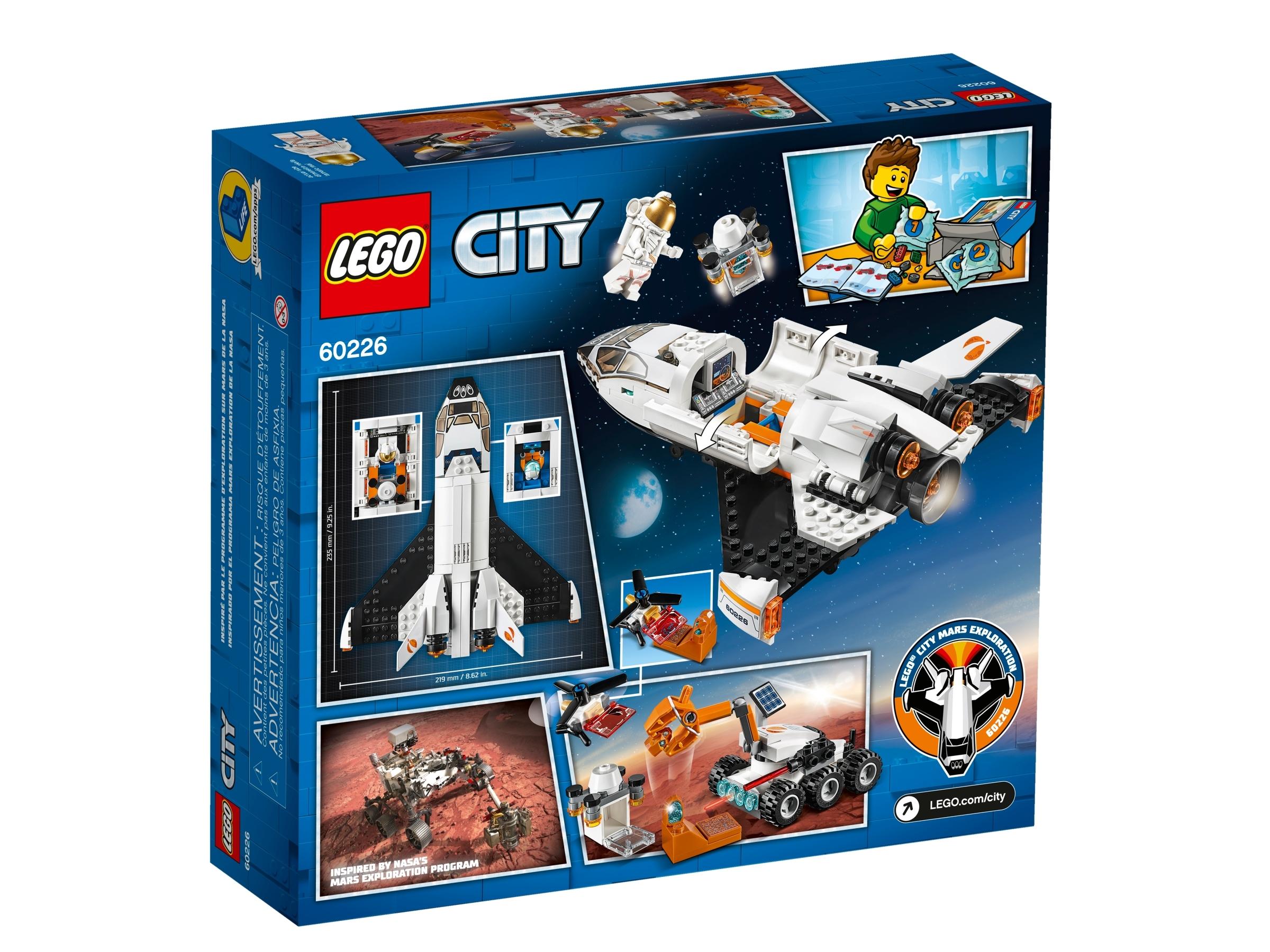 LEGO® City 60226 Mars-Forschungsshuttle NEU /& OVP